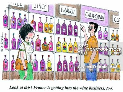 'Look at this! France is getting into the wine business, too.'