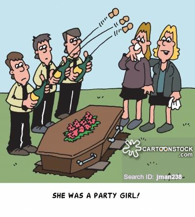 'She was a party girl!'
