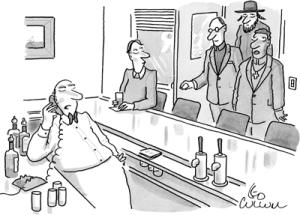 Cartoon Bar-minister-priest-rabbi